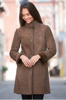 Olivia Shearling Sheepskin Coat