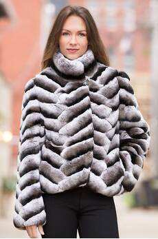 Matteo Rex Rabbit Fur Jacket