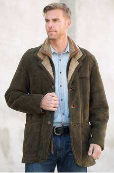 Overland Highlands Northern Merino Shearling Sheepskin Coat