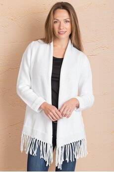 California Dreaming Cotton Cardigan Sweater