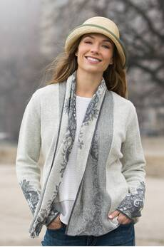 Natalie Alpaca Wool Cardigan Sweater