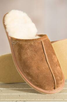 Men's Overland Scuff Sheepskin Slippers