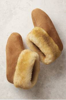 Women's Overland High-Top Sheepskin Slippers
