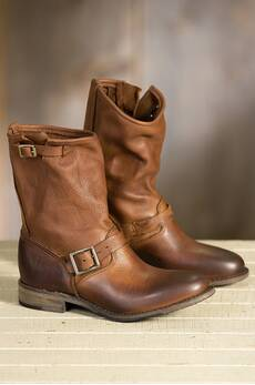 Women's Walk-Over Veronica Leather Boots