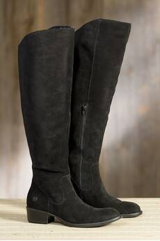 Women's Born Borda Suede Leather Boots