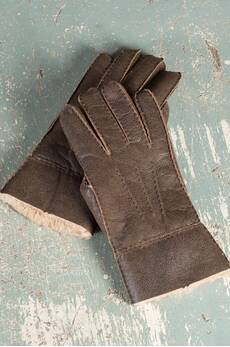 Men's Rugged Shearling Sheepskin Gloves