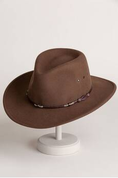 Stetson Wildwood Crushable Wool Cowboy Hat