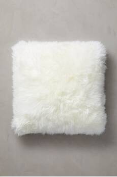 "Overland 24"" x 24"" Single-Sided Australian Sheepskin Pillow"