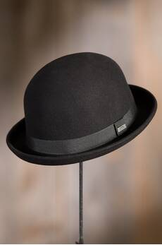 Crushable Wool Derby Bowler Hat